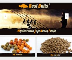 portfolio stworzonej strony internetowej best baits